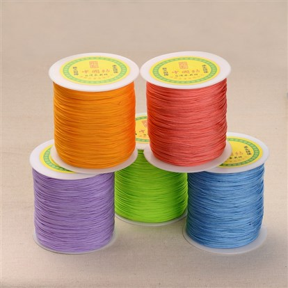 Polyester Cord, 1mm, about 300meter/roll-1