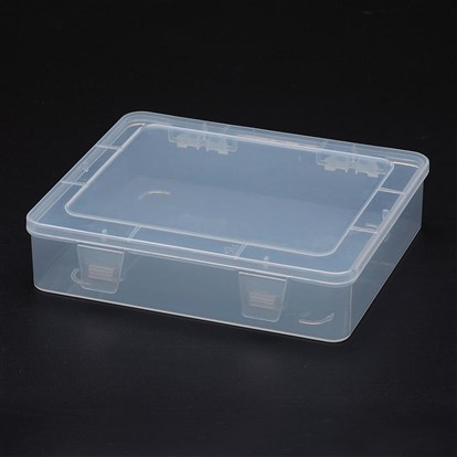 Polypropylene Plastic Bead Storage Containers, Rectangle-1