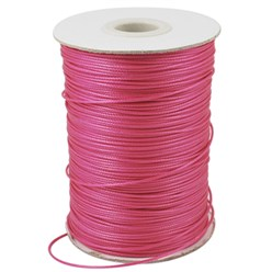 Camellia Korean Waxed Polyester Cord, Bead Cord, Camellia, 0.8mm; about 185yards/roll
