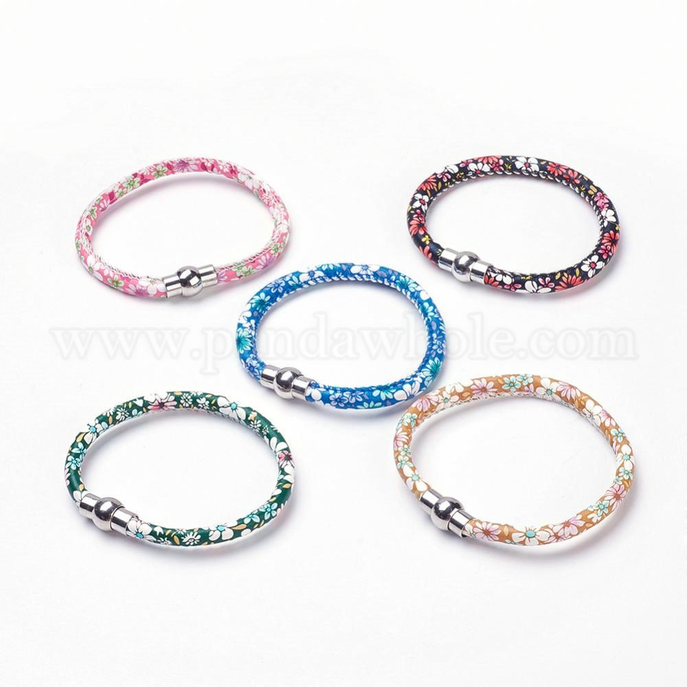 Cloth Bracelets With Br Magnetic Clasps 00pbhn