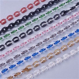 Transparent Acrylic Chains, Cable Chains