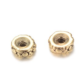 Tibetan Style Zinc Alloy Spacer Beads, Column, Lead Free