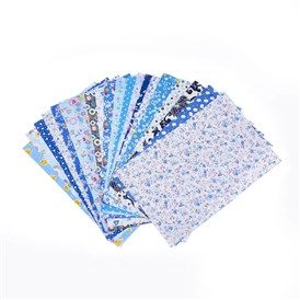 Mixed Printed Cotton Sewing Quilting Fabrics, for Patchwork Needlework, DIY Handmade Cloth