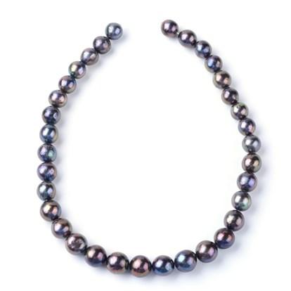 15-21 mm Metallic Chocolate Brown Keshi Freshwater Pearl Beads Center Drilled Brown Keshi Pearl Rondelle Freshwater Pearls #1801
