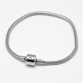 304 Stainless Steel European Style Bracelets for Jewelry Making