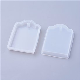 Silicone Moulds, Resin Casting Molds, For UV Resin, Epoxy Resin Jewelry Making, Receangle