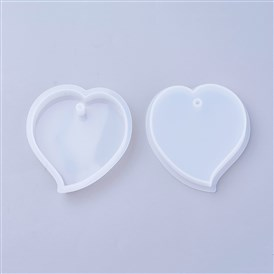 Silicone Moulds, Resin Casting Molds, For UV Resin, Epoxy Resin Jewelry Making, heart