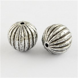 Antique Acrylic Beads, Round