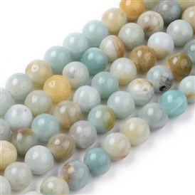 Natural Amazonite Beads Strands, Round