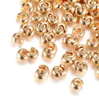 Brass Crimp Beads Covers