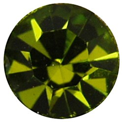 Olivine Brass Rhinestone Spacer Beads, Grade A, Rondelle, Golden Metal Color, Olivine, 9x4mm, Hole: 4mm