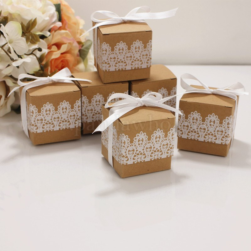Wholesale Gift Box Wedding Decoration Baby Shower Candy Packaging