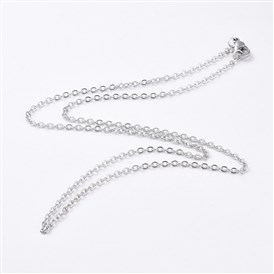 304 Stainless Steel Women Chain Necklaces