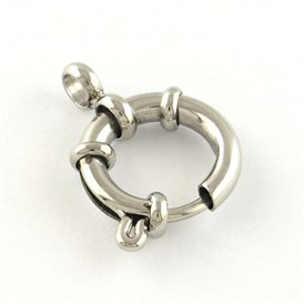 304 Stainless Steel Spring Ring Clasps