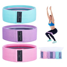 Resistance Loop Bands, Resistance Exercise Bands, for Home Fitness, Stretching, Strength Training, Pilates