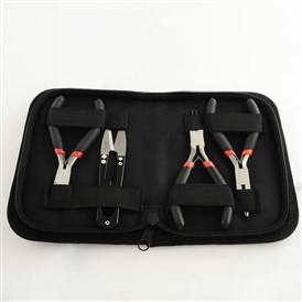 45# Steel Plier Sets: Side Cutting Pliers, Wire Cutter, Round Nose Pliers and Scissors