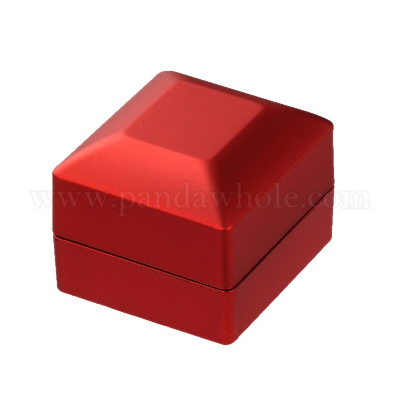 Wholesale Valentines Day Gifts Packaging Wood Finger Ring Boxes