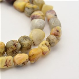 Natural Gemstone Bead Strands, 5~7X5~7mm, Hole: 1mm; about 15.7""