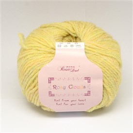 High Quality Hand Knitting Yarns, Rosy Clouds Yarns, with Fs Alpaca, Soft Wool, Artificial Wool and Polyester, 2mm; about 50g/roll, 10rolls/bag