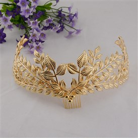 Fashionable Wedding Crown, Alloy Hair Bands, Bridal Tiaras