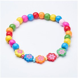 Wood Beaded Kids Necklaces