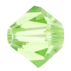 Czech Crystal Beads, Faceted Bicone, 8x8mm, Hole: 1mm; about 1gross/bag, 144pcs/gross