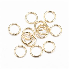 304 Stainless Steel Jump Rings, Close but Unsoldered