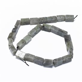 Natural Labradorite Beads Strands, Cuboid