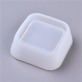 DIY Square Dish Silicone Molds, Resin Casting Molds, For UV Resin, Epoxy Resin Jewelry Making