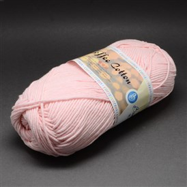 High Quality Soft Hand Knitting Yarns, with Cotton, PAN Fiber and Coff Extract, 2.5mm; about 100g/roll, 5rolls/bag