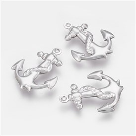 304 Stainless Steel Pendants, Anchor