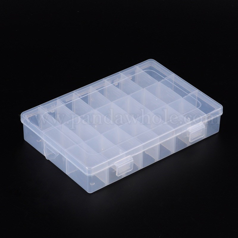 wholesale plastic bead storage containers 14x20x4cm in