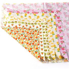 Printed Floral Cotton Fabric, for Patchwork, Sewing Tissue to Patchwork