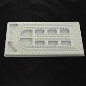Plastic Bead Design Board, Rectangle, 480x260x16mm