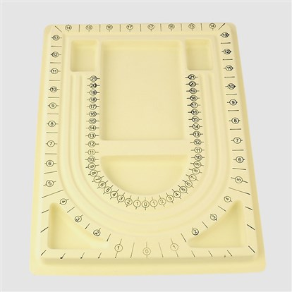 Plastic Bead Design Boards, 325x235x20mm