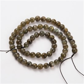 Natural Gemstone Labradorite Round Beads Strands