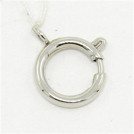 Necklace Design Materials 304 Stainless Steel Spring Ring Clasps