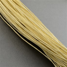 Chinese Waxed Cotton Cord, 1mm, about 350m/bundle