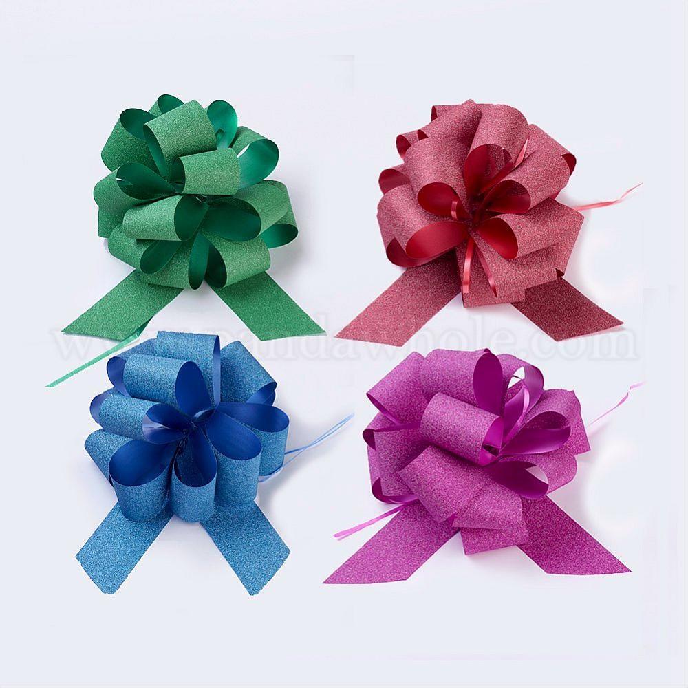 Wholesale Handmade Elastic Packaging Ribbon Bows Festival