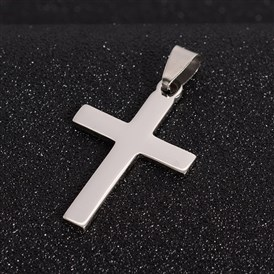 304 Stainless Steel Cross Pendants