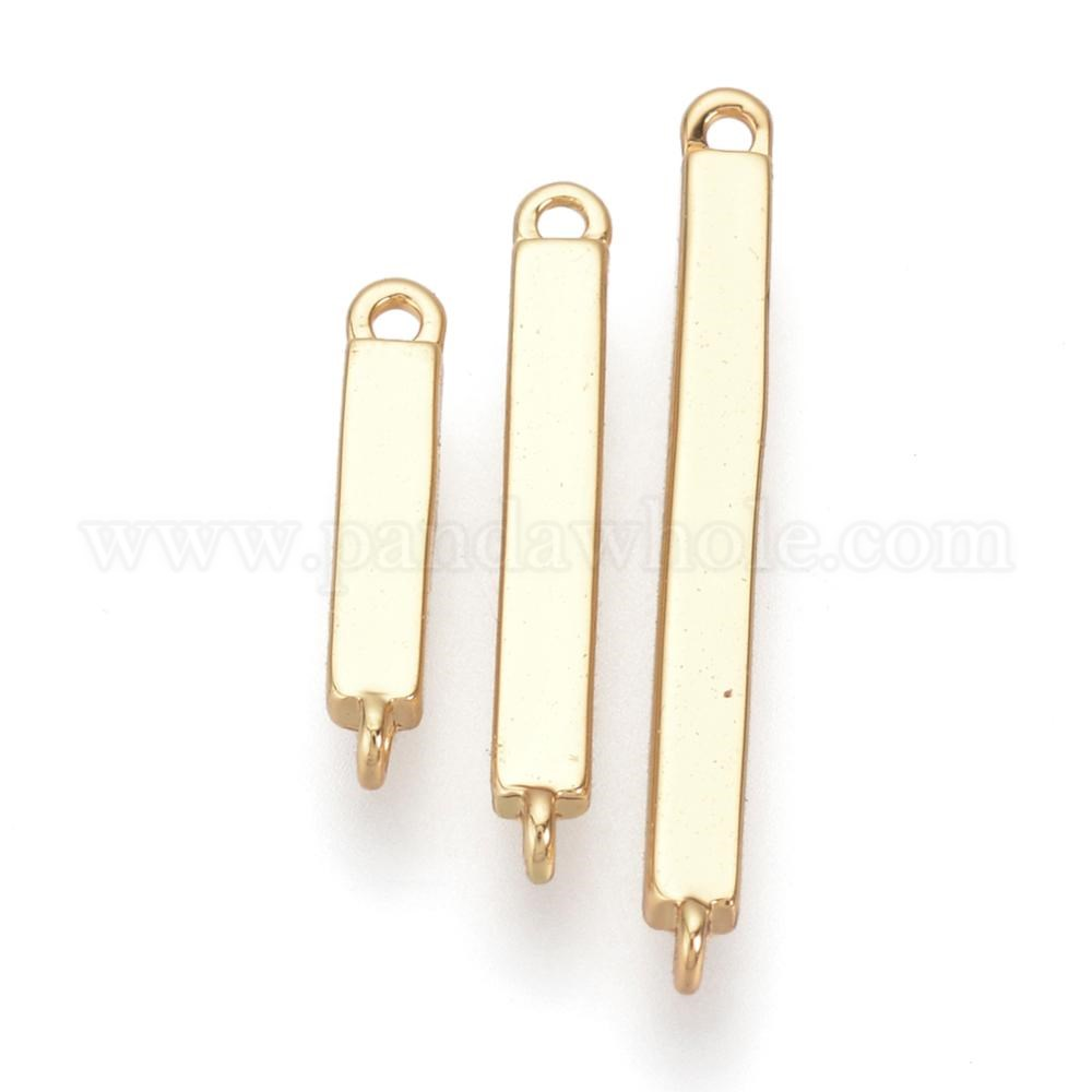 Wholesale Brass Links Real Gold Filled Cuboid In Bulk