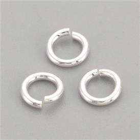 925 Sterling Silver Jump Rings, Close but Unsoldered