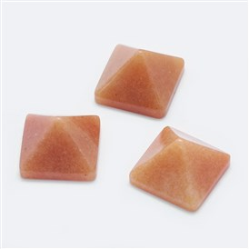 Natural/Synthetic Gemstone Cabochons, Pyramid