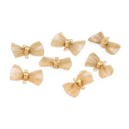 Wholesale Brass Links Bowknot In Bulk Pandawhole Com