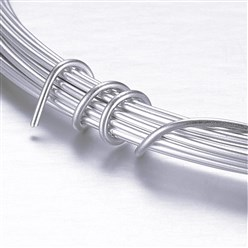 Gainsboro Aluminum Wire, Gainsboro, 2mm, about 5m/roll