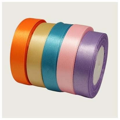 Satin Ribbon, Nice for Party Decoration, 25yards/roll(22.86m/roll)-1
