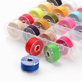 Polyester Thread, with Plastic Spools, for Sewing