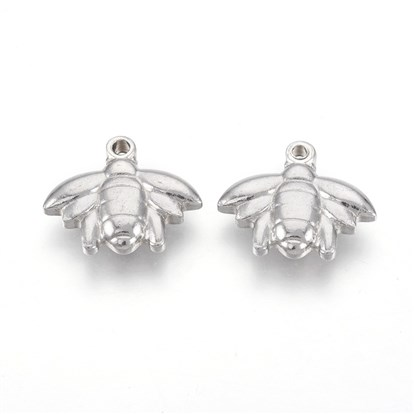 304 Stainless Steel Pendants, Bee
